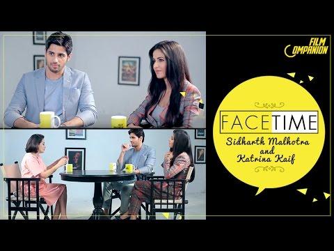 Sidharth Malhotra & Katrina Kaif | FaceTime | Anupama Chopra