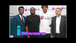 LG Electronics signs international football player Alex Iwobi as brand ambassador