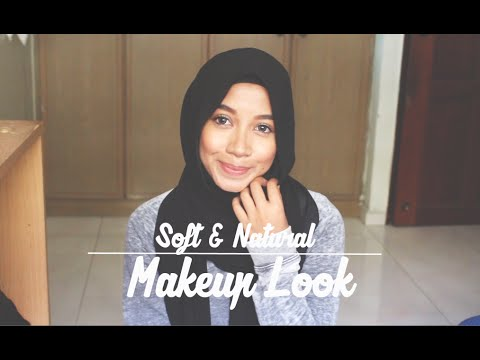 Soft & natural make up look.
