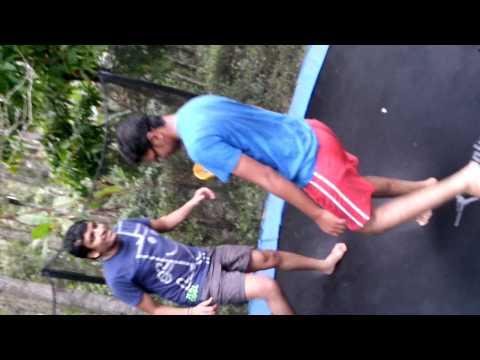 farmer son resort jumping japang