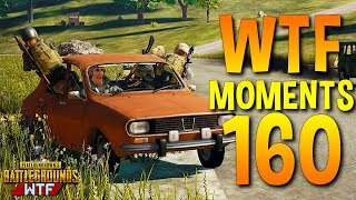 PUBG Funny WTF Moments Highlights Ep 160 (playerunknown