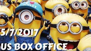 US Box Office (5/7/2017) أفلام البوكس أوفيس