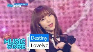 [HOT] Lovelyz - Destiny, 러블리즈 - 나의 지구 Show Music core 20160618