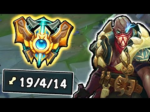 This is What a CHALLENGER PYKE JUNGLE looks like!