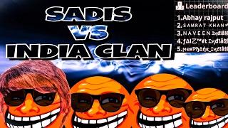SADIS DESTROY INDIA CLAN AGARIO MOBILE // SADIS CLAN