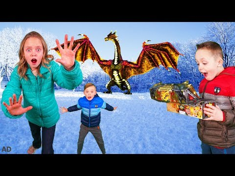 How to Train Your Dragon and Find Gold Treasure in the Hidden World In Real Life