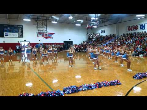 watch LHS Cheerleaders 9/11 routine 2015