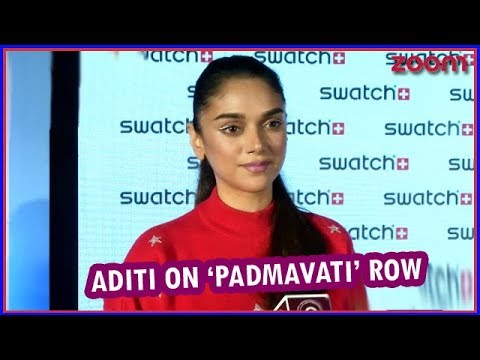 Aditi Rao Hydari Refuses To Comment On 'Padmavati' Row | Bollywood News