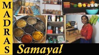 Kitchen Organizing Tips | What's In My Kitchen | Kitchen Organization Ideas In Tamil