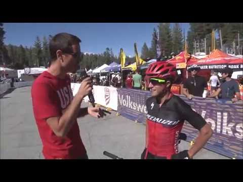 Interview with the mens STXC winner