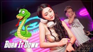 有蛇跑出來的歌 Burn It Down ✘ 剛好遇見你 (慢摇EDM) DJ T.S.H Nonstop Remix   King DJ Release