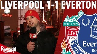 We Utterly Dominated! | Liverpool v Everton 1-1 | Jonathan's Match Reaction