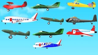 10 Little Aeroplanes l Childrens Rhymes l  Aeroplane l Kids Rhymes l Airplanes