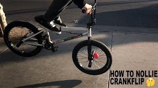 HOW TO NOLLIE CRANKFLIP!! (NOLLIE KICKFLIP)