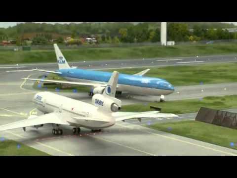 O maior aeroporto em miniatura do mundo parte 01