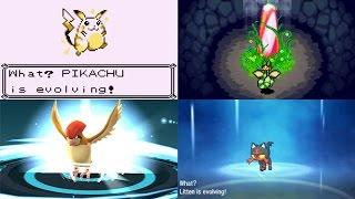 Evolution of Pokémon Evolution Animations (1996 - 2017)