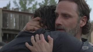 The Walking Dead - Season 7 Episode 8 - The Ending Scene ★(HD * 1080p) ★