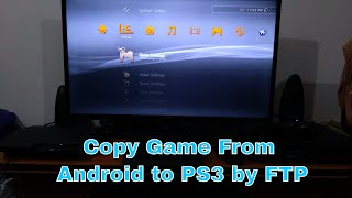 Transfer  PS3 Game using Android Mobile Phone