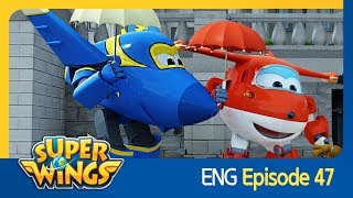 [Super Wings] EP 47 - Rain Ride(ENG)