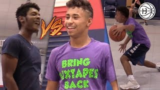 Julian Newman Goes OFF In INTENSE Game of 1V1's!