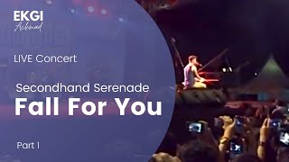 Secondhand Serenade - Fall For You LIVE concert at JakCloth Festival Senayan, Jakarta (Part-1)