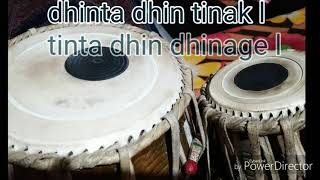 Tabla very usefull कहरवा भजन ताल learning lesson for beginner