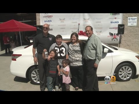 Body Shop Donates Car To Mom In Need