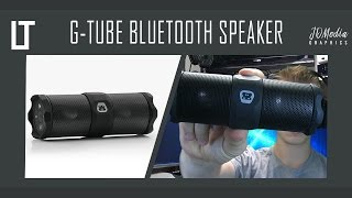 G-Tube Bluetooth Speaker Review (Small & Powerful?)