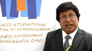 Tan Sri Dato'Sri Prof.Ir Dr Sahol Bakar Wales international Festival of Entrepreneurship