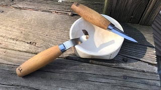 Carving out a Simple Bowl from a Blank