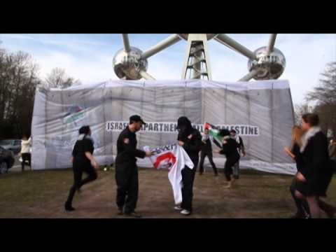 Flashmob 'Stop G4S' – 7 March 2015 - Brussels