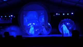 #1550- Dance transparent bubble