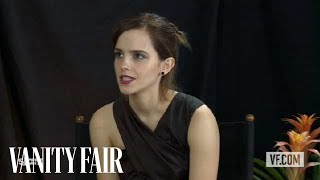"Emma Watson Talks to Vanity Fair's Krista Smith About the Movie ""The Bling Ring"""
