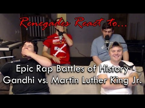 Renegades React to... Epic Rap Battles of History: Gandhi vs. Martin Luther King Jr.