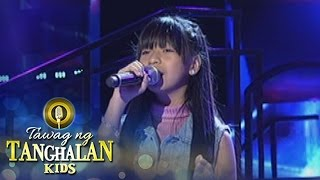 Tawag ng Tanghalan Kids: Heather Lindsay Chu   Hawak Kamay