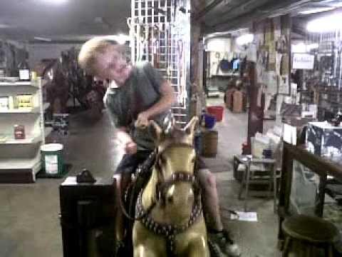 Xxx Mp4 Anthony Rides Fake Horse 3GP 3gp Sex