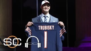 """Todd McShay: Bears Gave Up """"Entirely Too Much"""" For Trubisky   SC With SVP   April 28, 2017"""