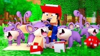 Minecraft: 6 RATTATA NO TIME - POKEMON CHAMPION Ep. 16 ‹ AMENIC ›