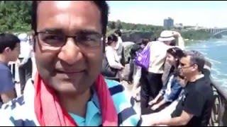 Funny Desi Commentry at Niagra Falls | America ka Indaurikaran