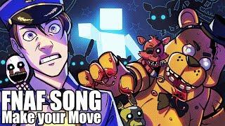 FNAF ULTIMATE CUSTOM NIGHT SONG (Make Your Move) LYRIC VIDEO - Dawko & CG5