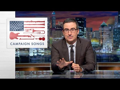 Last Week Tonight with John Oliver Campaign Songs HBO