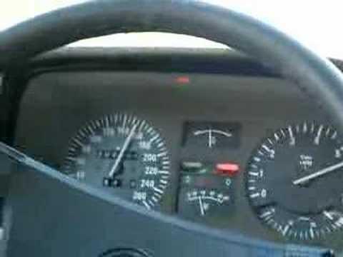 BMW E23 745i -84, 0-200 km/t