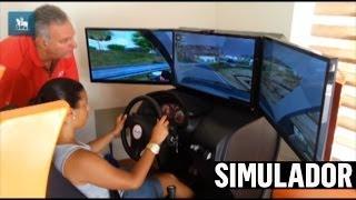 Veja como funciona o simulador de direção