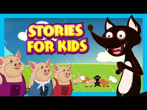 Stories For Kids In English | Big Bad Wolf and More | Short Stories For Children - Story Compilation