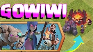 HOW TO USE GOWIWI🔸NEW CHALLENGE!!🔸Clash Of Clans 😀