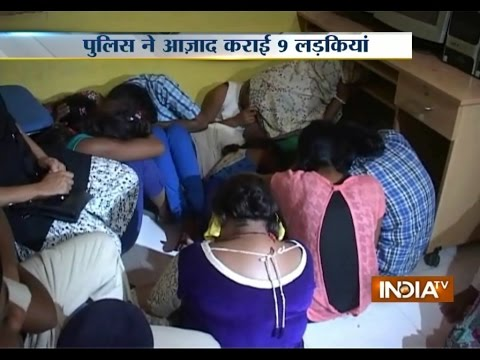 Xxx Mp4 SEX Racket Busted In Ratlam Police Rescued 9 Girls India Tv 3gp Sex