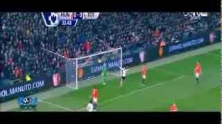 Manchester United  Vs Tottenham  1 2 All Goals 1 1 2014 HD