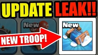 OMG! NEW UPDATE LEAKS IN CLASH OF CLANS! NEW TROOP , SPELL AND TRAP! CHRISTMAS UPDATE 2016!