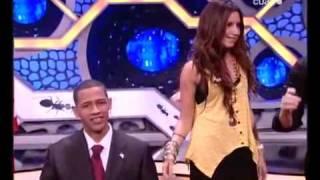 Ashley Tisdale Dances Lady Gaga to False Obama
