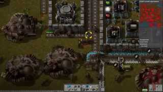 Factorio: Living With Biters Ep#63: Biter Bother And Oil Ore Outages